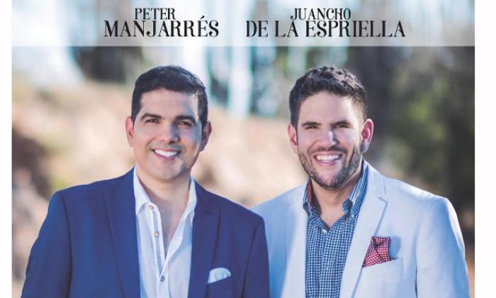 Peter Manjarrés y Juancho De la Espriella anuncian que estarán de nuevo juntos