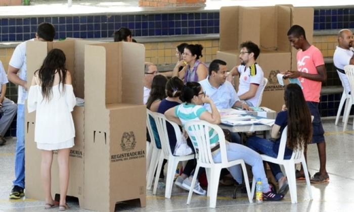 Votaciones del plebiscito.