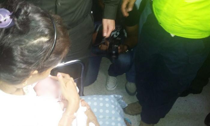 Policía recuperó a recién nacida raptada en el hospital de Montería
