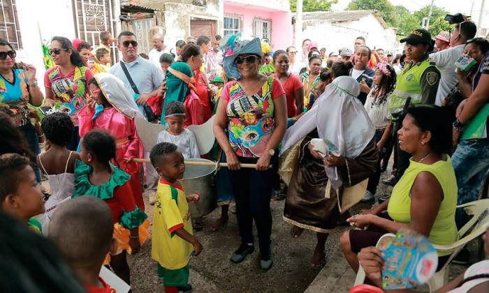 'Ángeles somos', una tradición que sigue viva en Cartagena