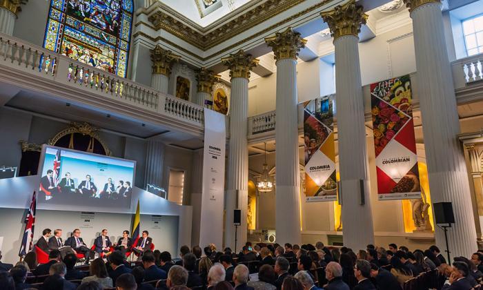 Colombia espera nuevas inversiones del Reino Unido
