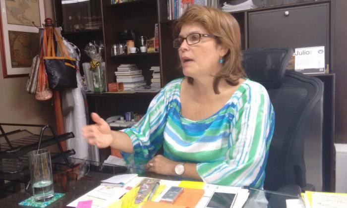 Martha Lucía Noguera, presidenta de Cotelco Cartagena.