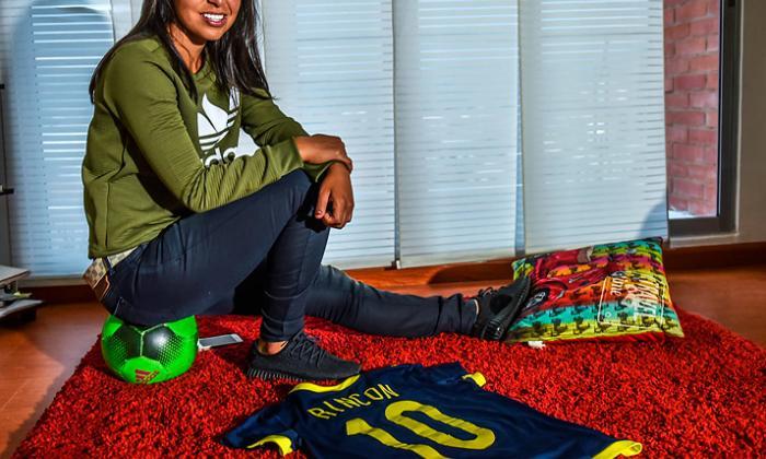 Yoreli Rincón, lista para figurar en la liga femenina de Colombia