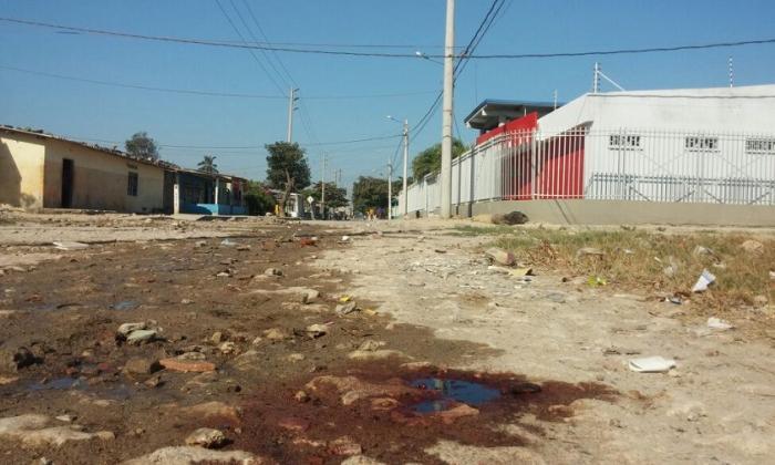 Tramo de la carrera 6 con calle 21 del barrio La Luz, donde fue encontrado el cuerpo en el 'bicicoche'.