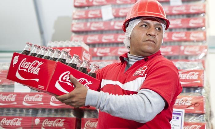 Trabajador de Coca Cola Femsa