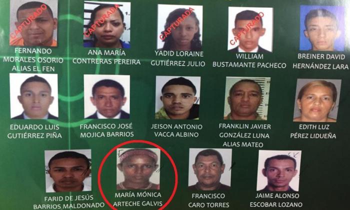 Se entrega mujer que está entre los 15 más buscados en Barranquilla