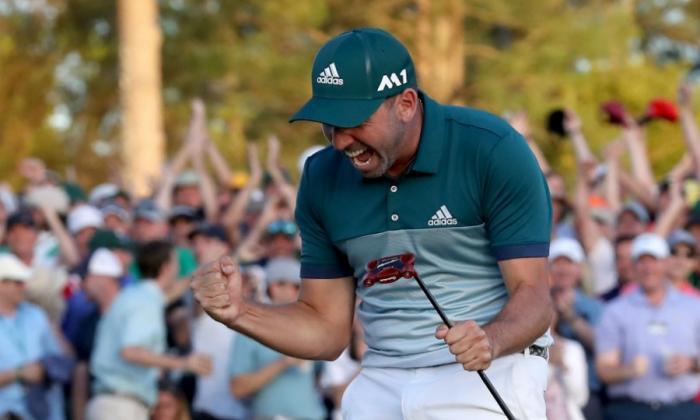 Español Sergio García gana el Masters de Augusta