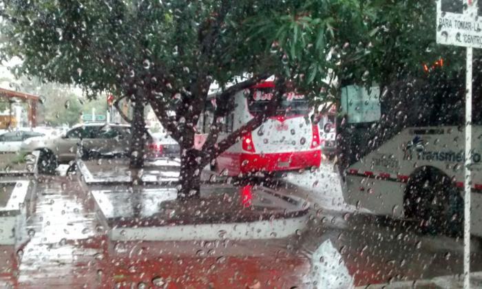 Ideam prevé lluvias los días jueves, viernes y sábado