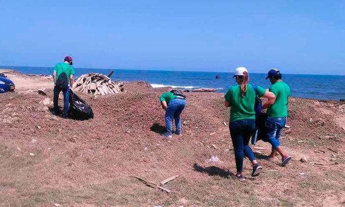 Jornadas de limpieza y siembra en el Día de la Tierra