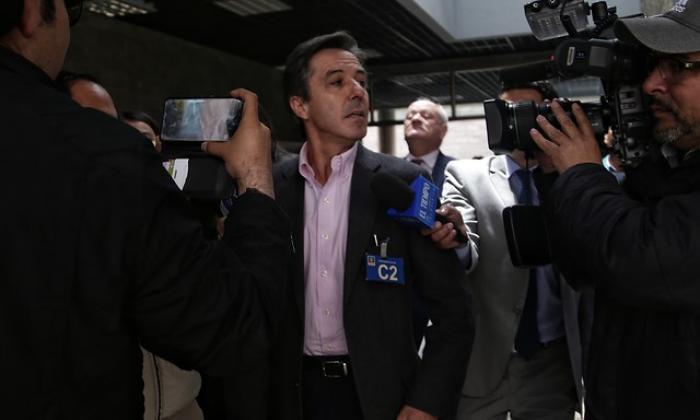 """Rodrigo Prieto, ex gerente de la campaña """"Santos presidente 2014""""."""