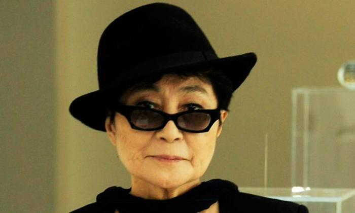 La artista japonesa Joko Ono.