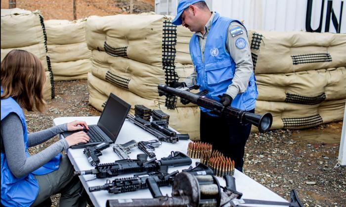 Concluye entrega de armas de las Farc a la ONU