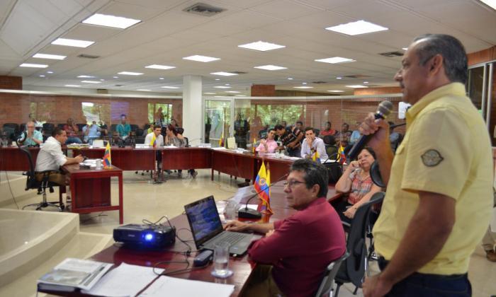 Asamblea de Sucre cuestiona labor de la Oficina de Gestión del Riesgo