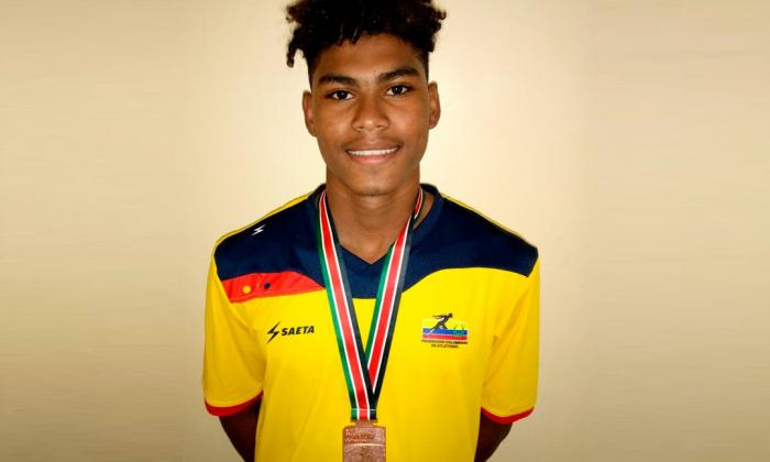 Cienaguero gana medalla de bronce en el Mundial de Atletismo Sub-18 en Kenia