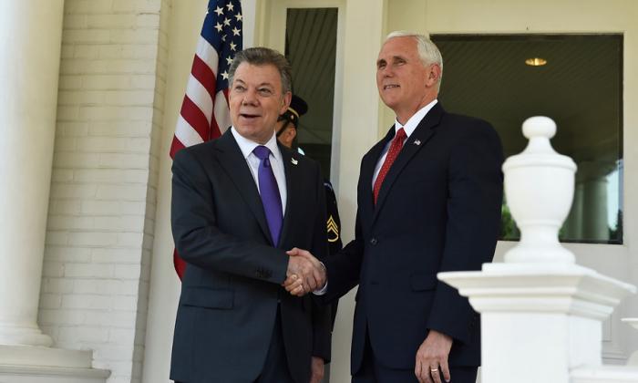 Vicepresidente de los Estados Unidos, Mike Pence, llega este domingo a Cartagena