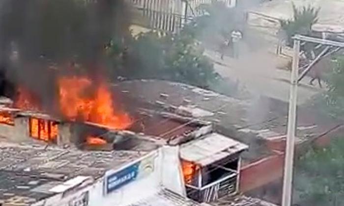 Emergencia en Marbella por incendio