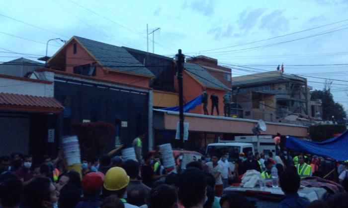Al menos 32 niños muertos por derrumbe de escuela en Ciudad de México tras el terremoto