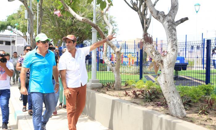 Distrito recupera 1.487 m2 de espacio recreativo en El Silencio