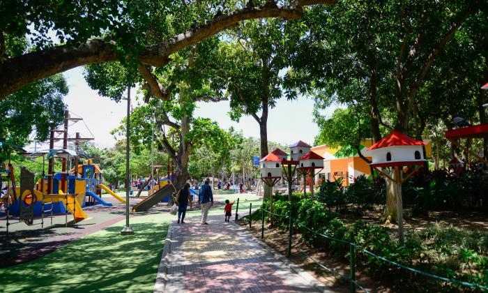 La administración seguirá invirtiendo en recuperación de parques en la ciudad.
