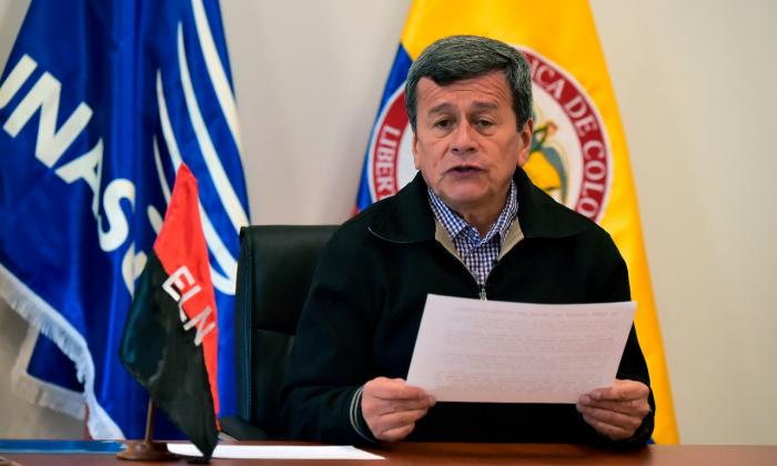 """ELN advierte """"grave riesgo"""" de ruptura de tregua en Colombia"""