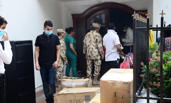 Once pacientes están hospitalizados en Valledupar.