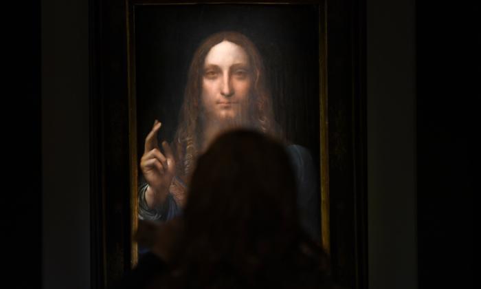 'Salvator Mundi', obra de Leonardo Da Vinci.