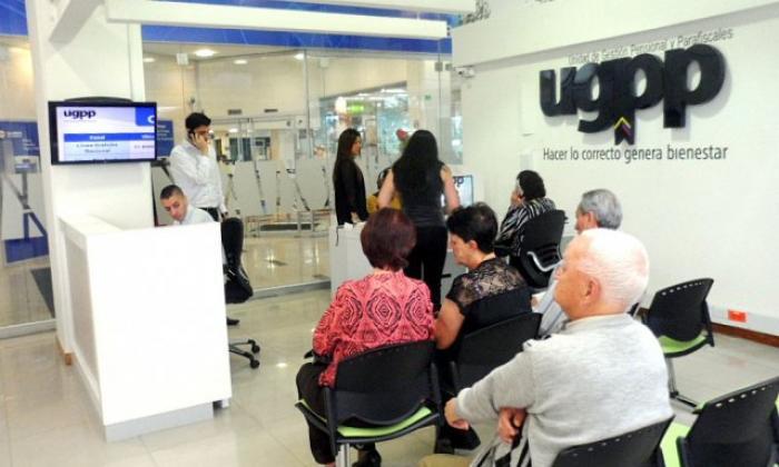 Punto de Atención Virtual de la UGPP en que se presta asesoría.