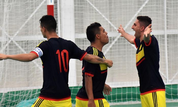 Selección Colombia de Futsal va por el oro Bolivariano
