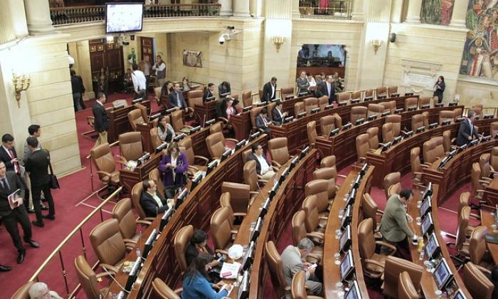 La Plenaria de la Cámara.
