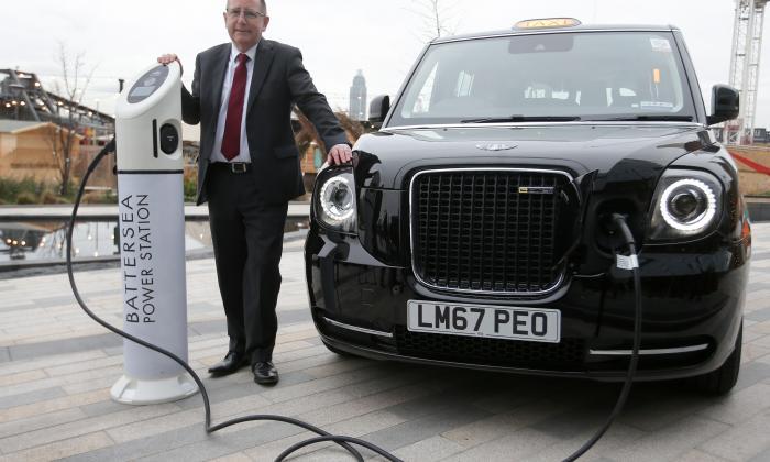 Los 'Black cabs': la flota de taxis eléctricos que estrena Londres