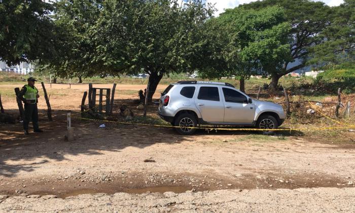 La camioneta del Registrador Giovany Padilla, fue encontrada en un lote cerca a la cada donde apareció muerto el funcionario.