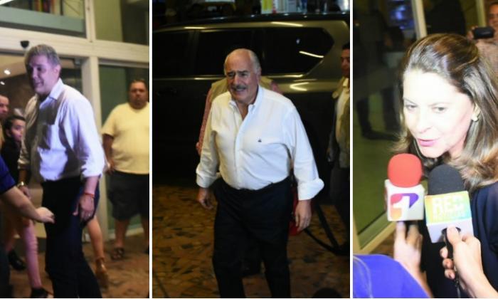 Iván Duque, Álvaro Uribe, Andrés Pastrana y Marta Lucía Ramírez se reunieron en Barranquilla