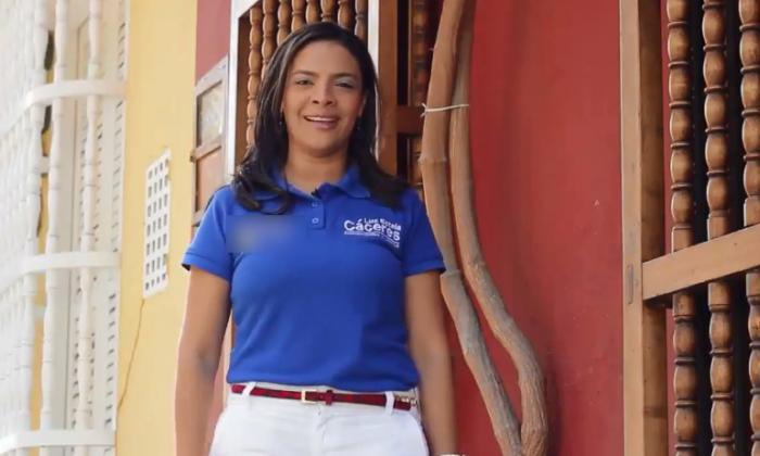 Luz Estela Cáceres.