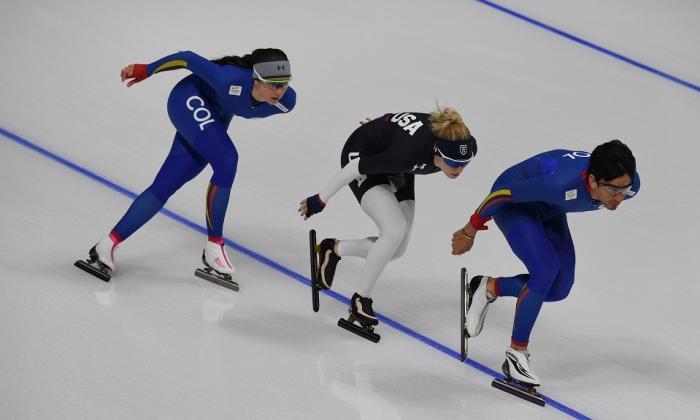 De una diversión a ser olímpica en seis meses, de Colombia a Corea en una semana