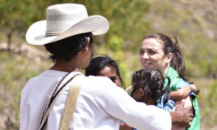 Niños Wiwa y Kogui retornan a la Sierra Nevada tras ser atendidos por problemas de salud
