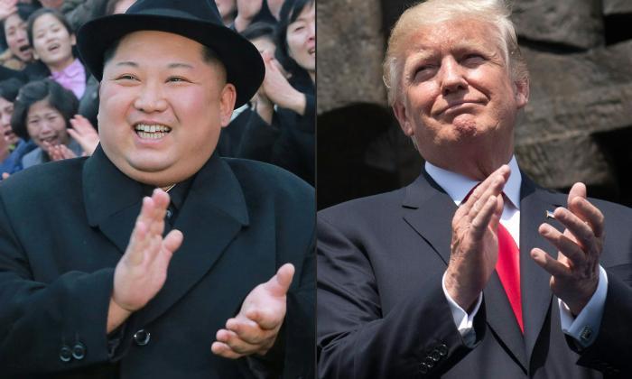 El dirigente norcoreano Kim Jong Un (der.) y el presidente estadounidense Donald Trump debatirán el tema de la carrera armamentista.