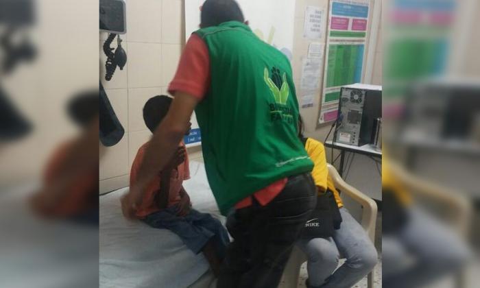 ICBF rescata niño venezolano con desnutrición y discapacidad