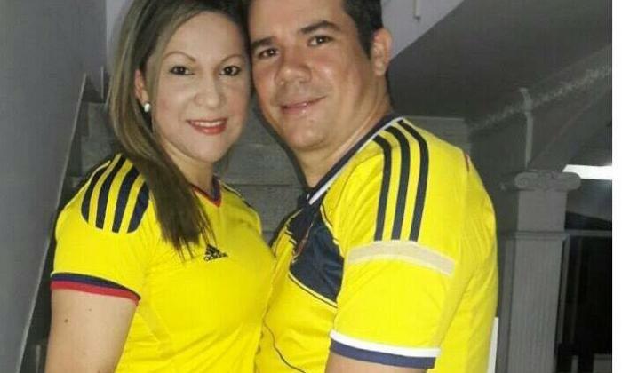José del Carmen Alsina Quintero  y su esposa Gloria Álvarez Ramírez.