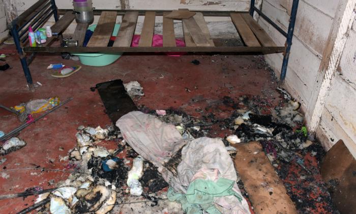 Policía de Infancia indaga caso de bebé muerto en incendio