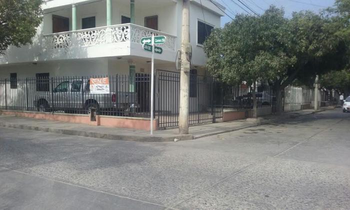 Lugar en el barrio El Porvenir, donde fue atracado Carlos Hincapié