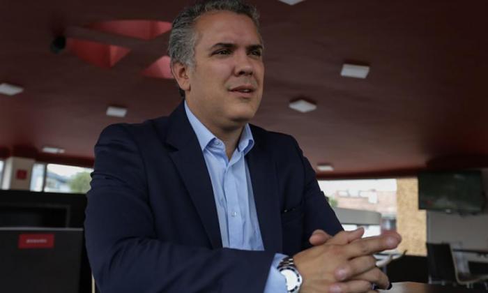 """""""Respaldo de Vargas Llosa reafirma lo que representamos"""": Duque"""