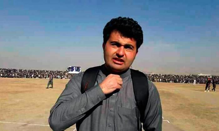 Ahmad Shah, periodista afgano.