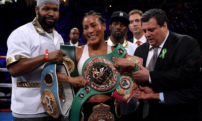 Cecilia Braekhus sufre, pero sigue siendo la reina del boxeo