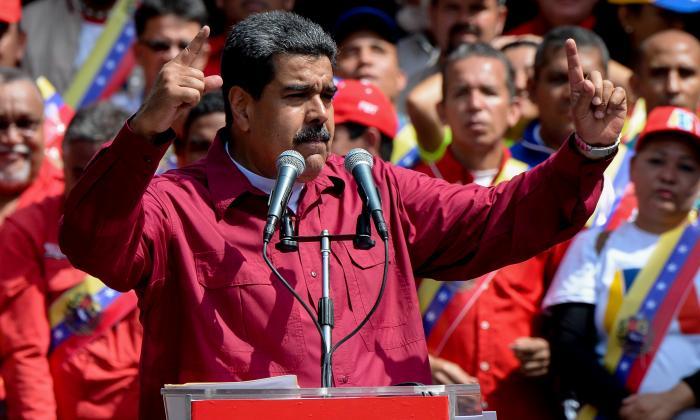 Maduro prueba maquinaria chavista de cara a elecciones presidenciales