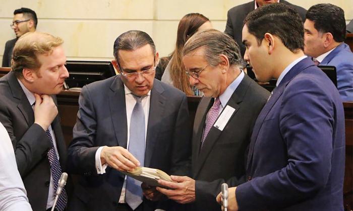 Raschid Náder, Efraín Cepeda, Eduardo Verano y Jesús Pérez.