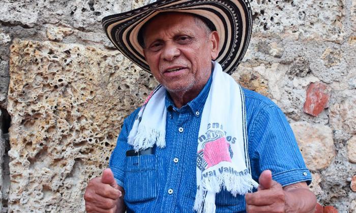 Adolfo Pacheco grabará un desconectado en Cartagena