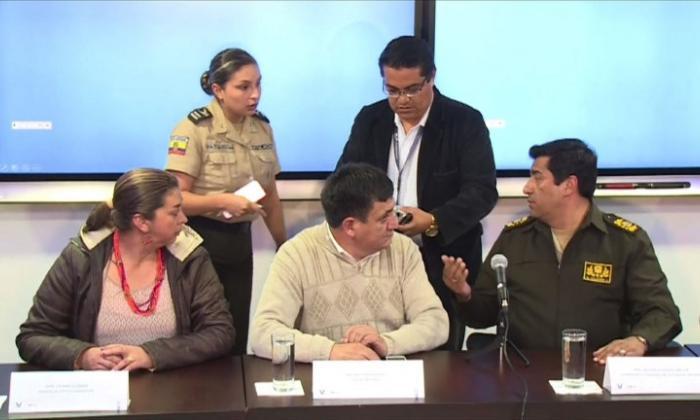 Arriban a Cali familiares de periodistas ecuatorianos asesinados por 'Guacho'