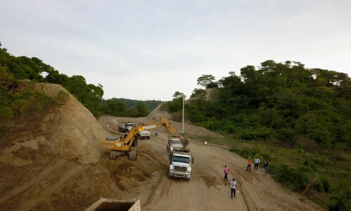 En 3 meses terminan obras del Corredor Vial de El Guájaro