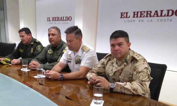 Policía y Fuerzas Militares: 'firmes' para el desfile militar del 20 de Julio