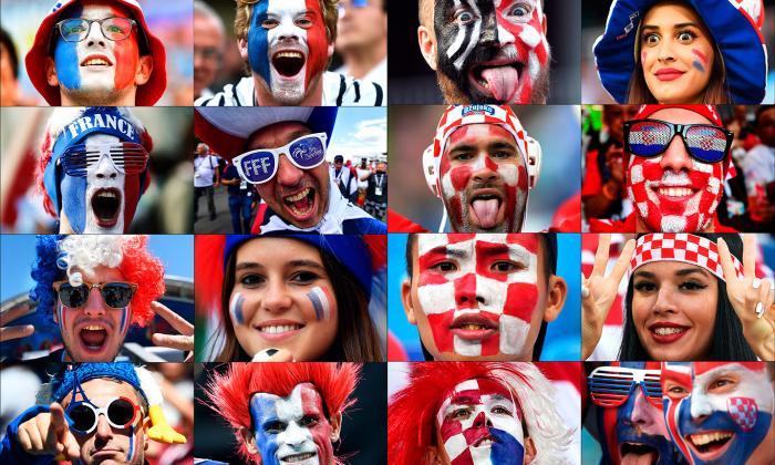 Francia vs. Croacia: el día final